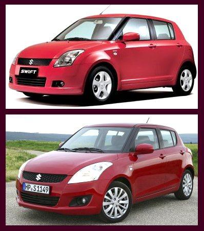 2010 maruti swift and 2011 maruti swift comparison