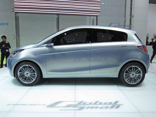 mitsubishi global small car concept 2