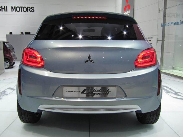 mitsubishi global small car concept 3