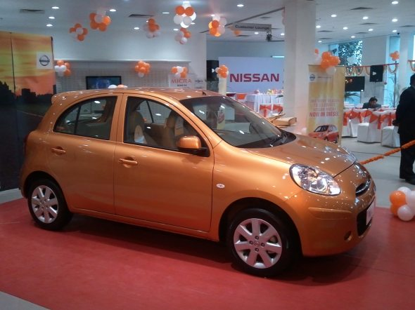 Nissan\'s new small car for India in concept stage