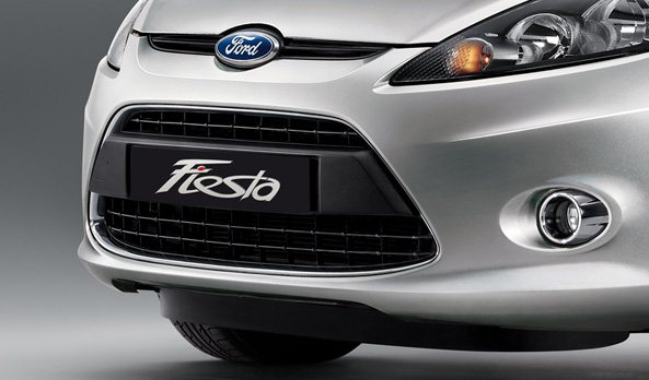 2011 ford fiesta grille photo