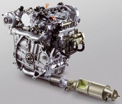 honda i-dtec engine photo