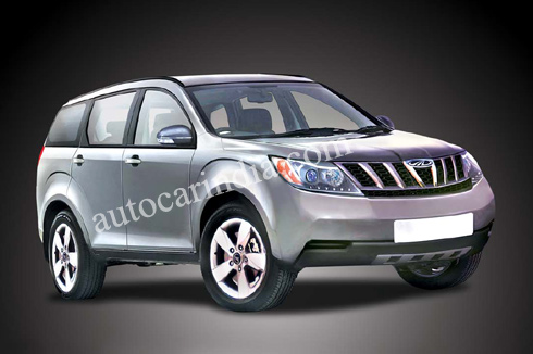 mahindra w201 rendering by Autocar India
