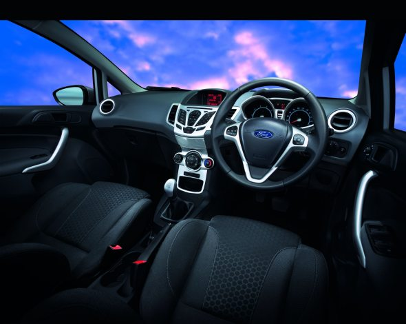new ford fiesta interior photo