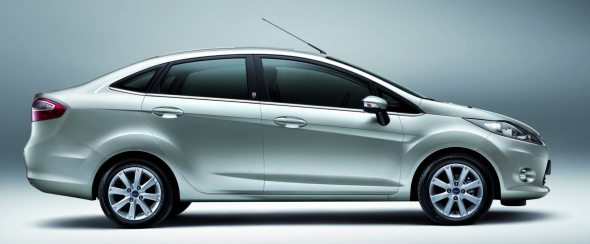 new ford fiesta side profile photo