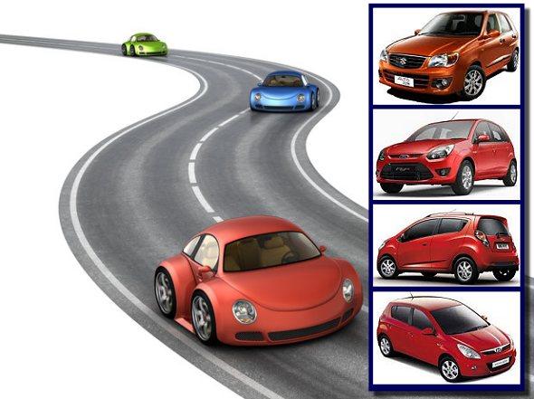 car sales 2010 india