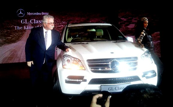 mecedes gl500 suv india photo