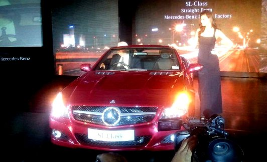 mercedes sl350 india photo