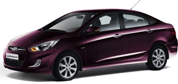new hyundai verna colours