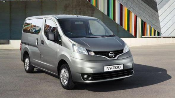 nisan nv200 auto expo launch