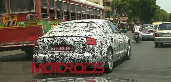 2011 new audi a6 spy photo 2