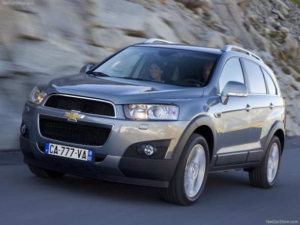 chevrolet captiva front photo