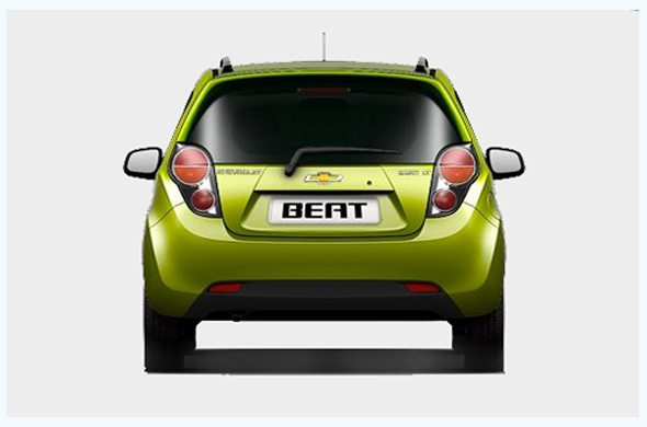 beat diesel exterior rear photo