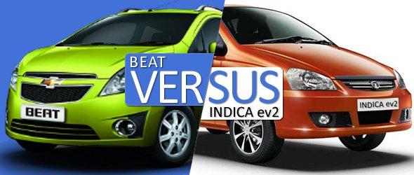 chevrolet beat vs tata indica comparison
