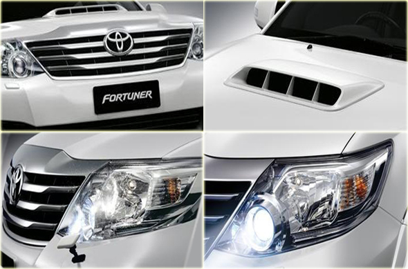 New Toyota Fortuner Photo Gallery Face Lifted Toyota