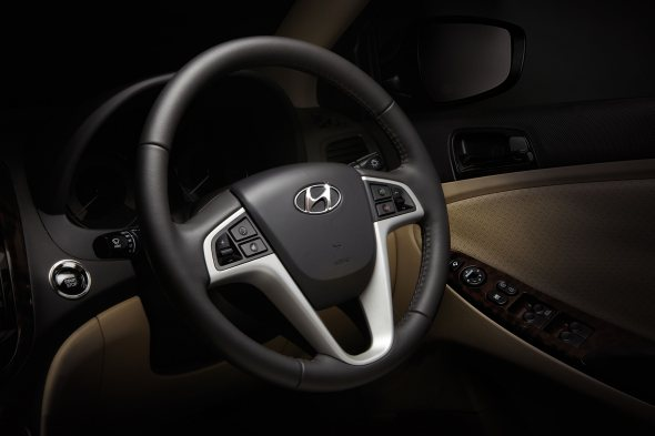 hyundai verna electronic power steering photo