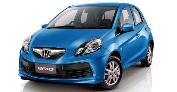 honda brio blue photo