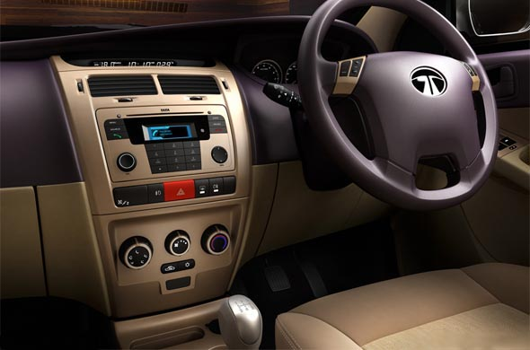 tata manza steering mounted controls
