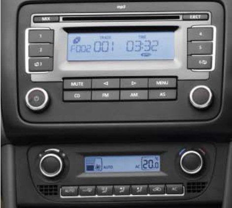 volkswagen vento music system