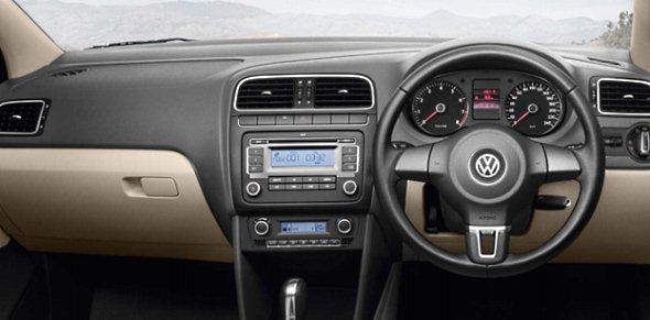 volkswagen vento features dashboard