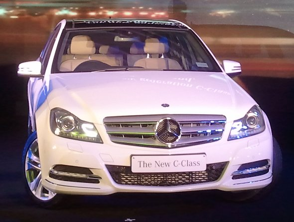 Mercedes benz c class c200 cgi c250 cdi launched in india for Mercedes benz c class price in india