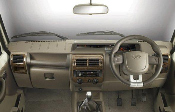 new mahindra bolero interior photo