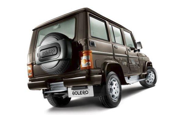 new mahindra bolero rear