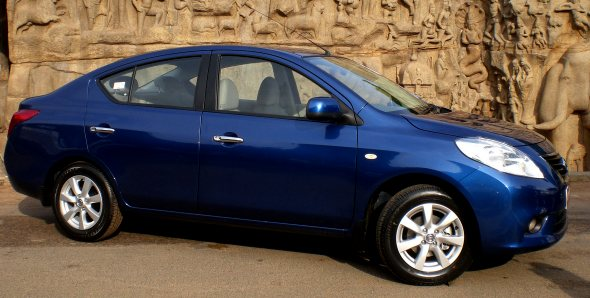 Nissan Sunny To Worry Etios And Sx4 With Launch Price Of Rs 5 78 Lakh