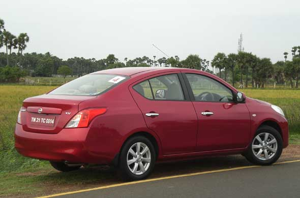 nissan sunny side profile