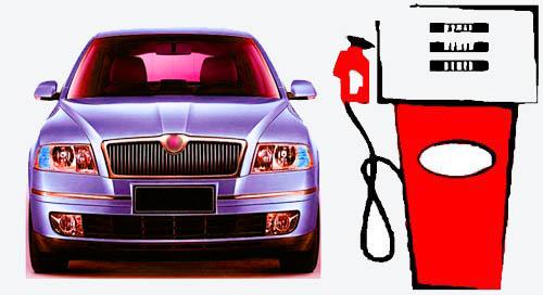 petrol price hike sedan image
