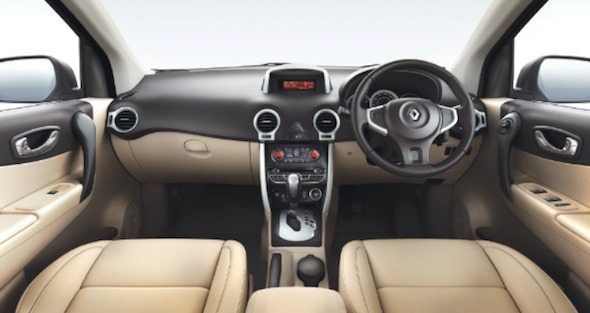 renault koleos int dashboard photo