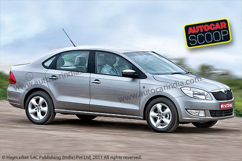 skoda lauretta india photo