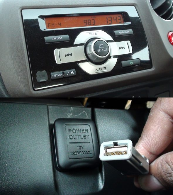 honda brio in car entertainment photo