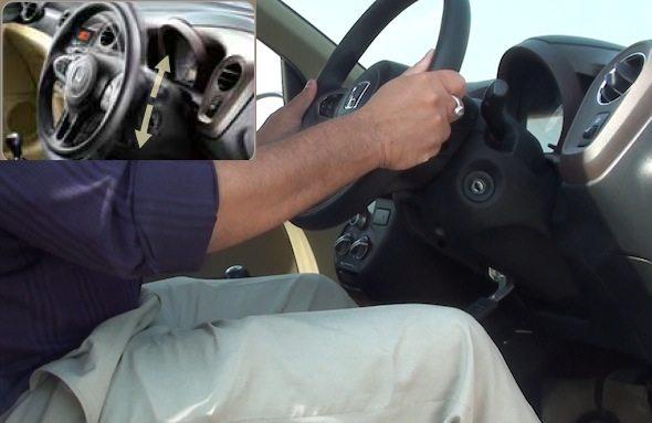 honda brio tilt steering photo