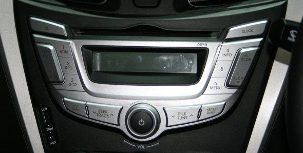 hyundai eon music system