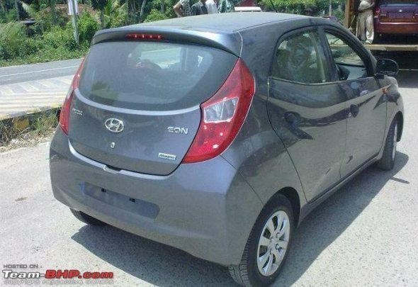 hyundai eon rear profile spy photo3