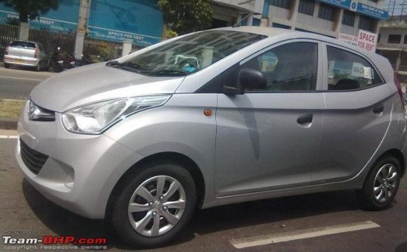 hyundai eon side profile spy photo2
