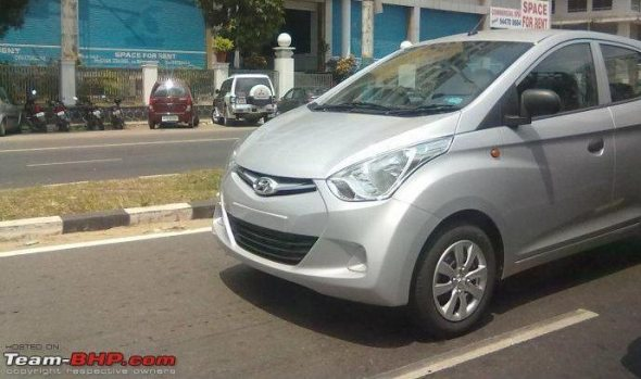 hyundai eon spy photo1