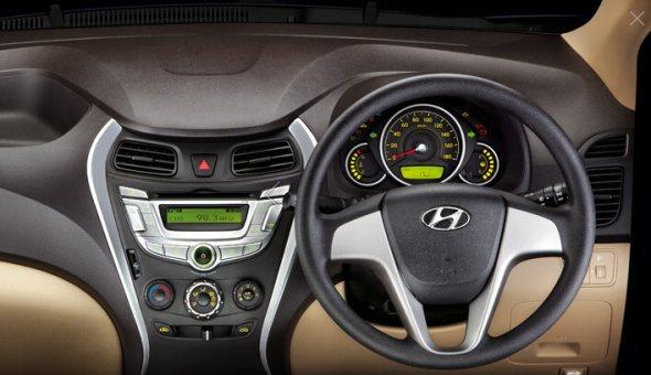 hyundai eon tilt steering photo