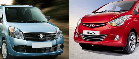 hyundai eon vs maruti wagonr comparison