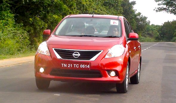 nissan sunny diesel car auto expo launch