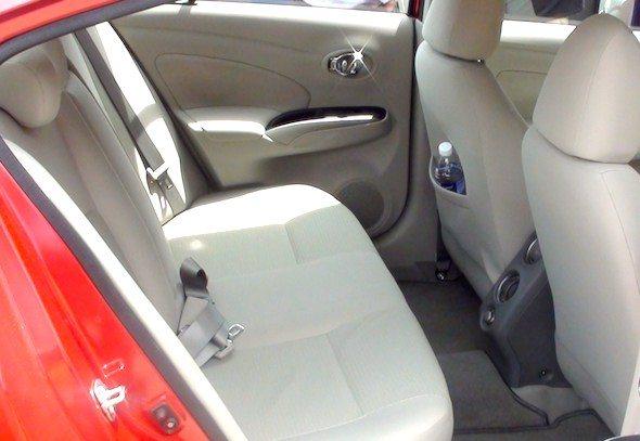 nissan sunny interior side photo