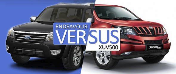 mahindra xuv500 vs ford endeavour comparison