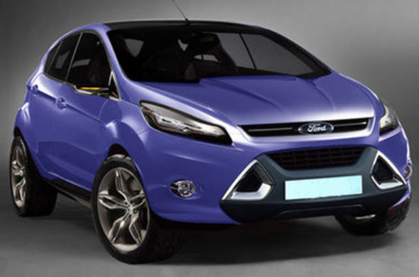 ford ecosport rendering