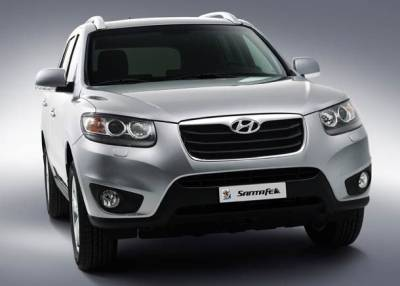2010 hyundai santa fe india price photos and specifications. Black Bedroom Furniture Sets. Home Design Ideas
