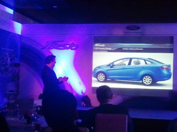 An evening with the 2011 Ford Fiesta before the test drive