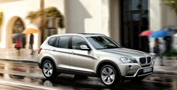 BMW begins trial production of their X3 SAV