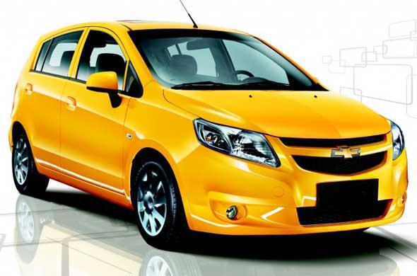 Spacious Chevrolet Sail U-Va launch on October 25, 2012!