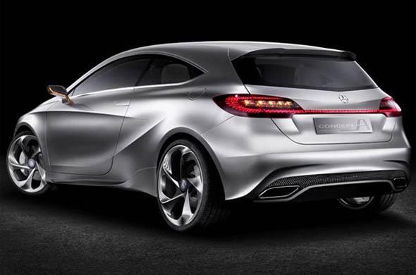 Mercedes Benz Concept A CLASS rear