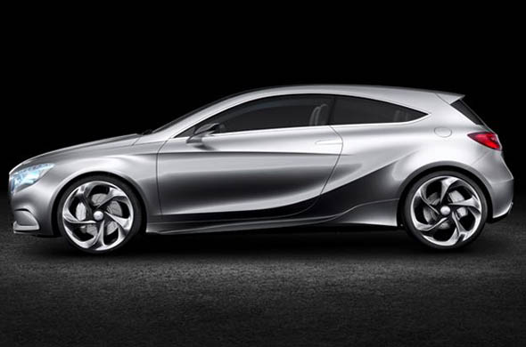 Mercedes Benz Concept A CLASS side